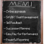 Getting Everything on the Performance Management Menu